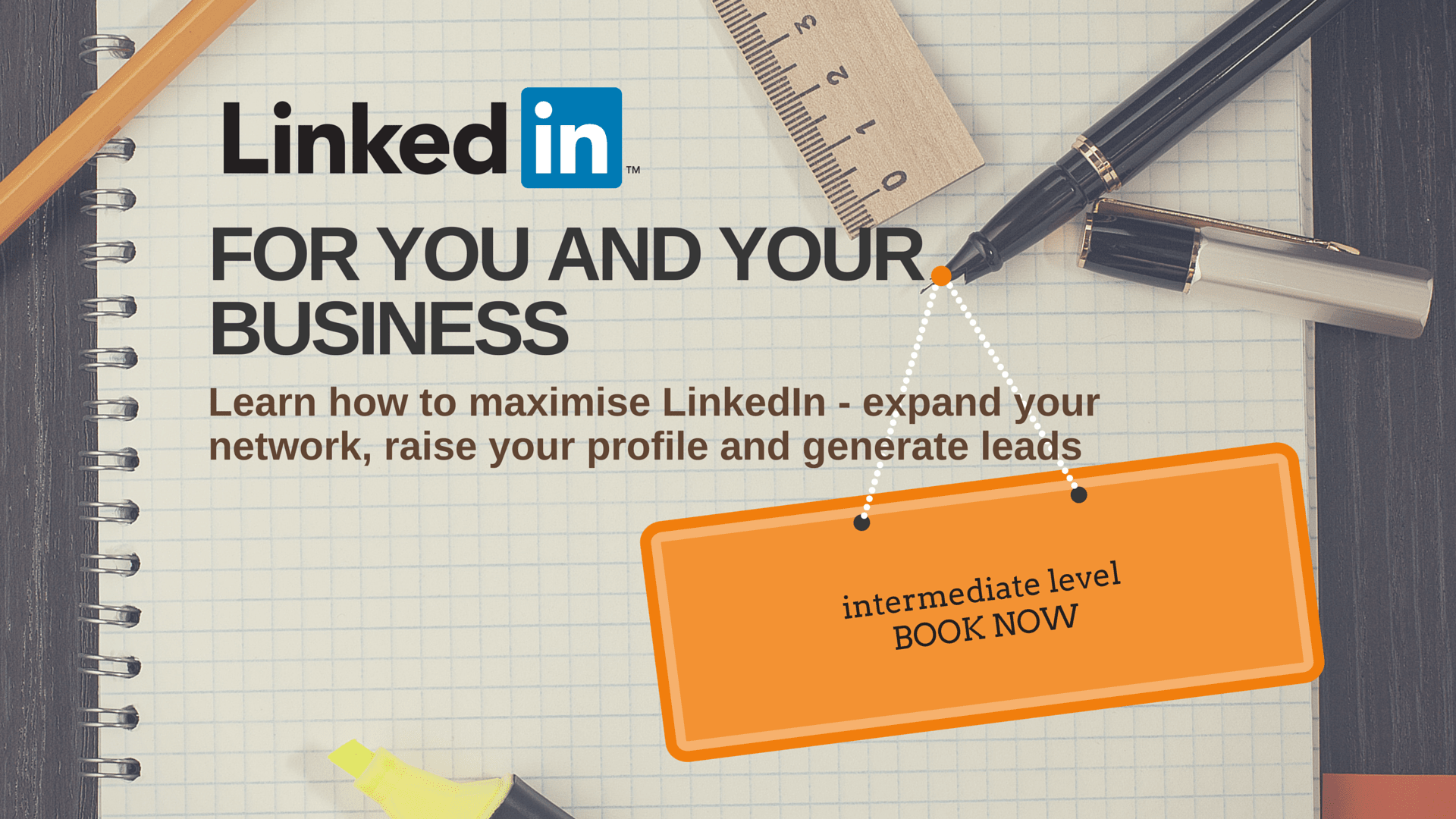 Linkedin training for business intermediate