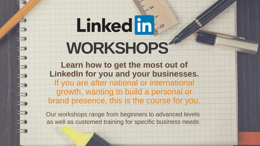 LinkedIn training for business workshops