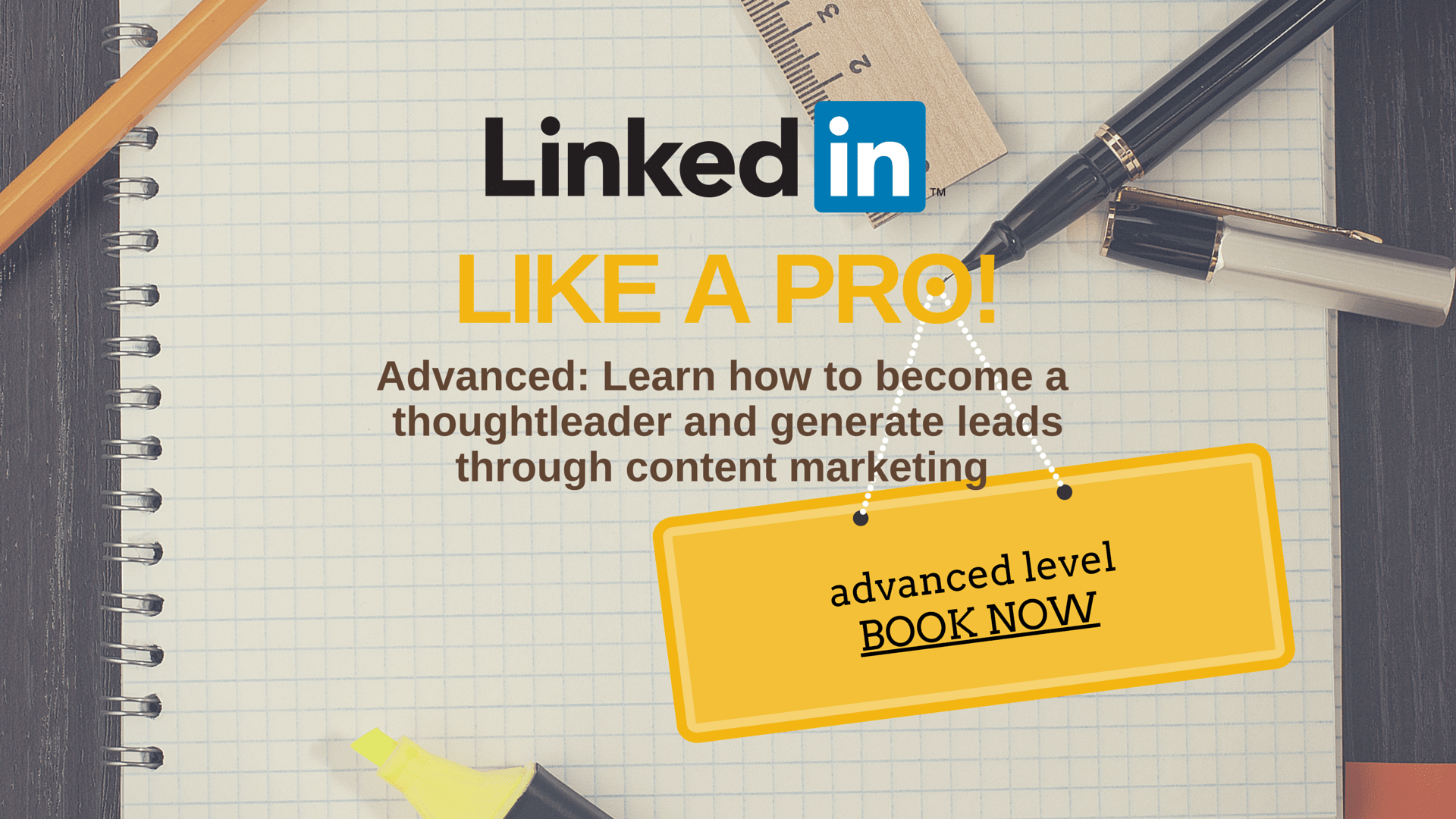 Linkedin training for business advanced