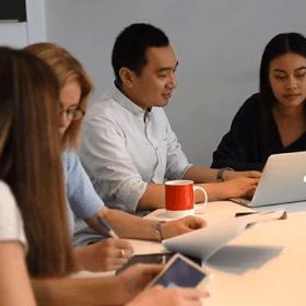 Marketing coach training marketing consultants